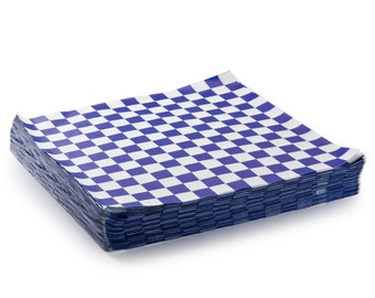 checkerboard tissue paper