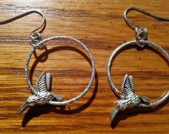Hummingbird Earrings  (E 189)