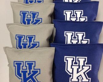 Cornhole Bags Bean Bags/Baggo Toss ACA Regulation Sz Double Stitched Set of 8 (10)