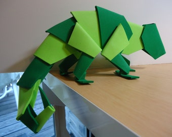 Foamcraft Chameleon, Foam Sculpture, Animal Figurine