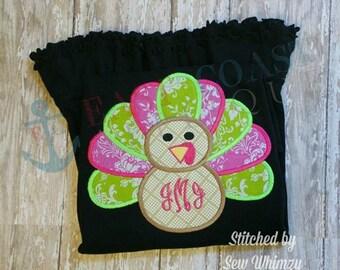 TURKEY machine embroidery design