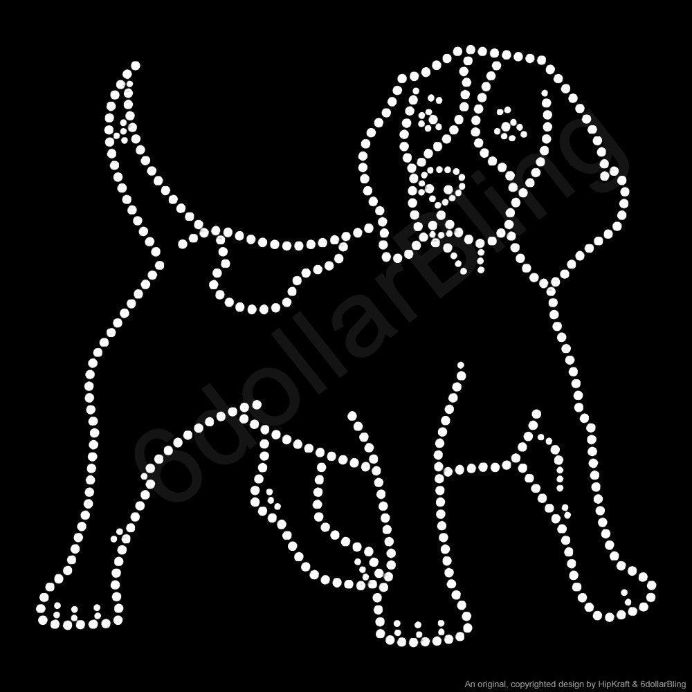 Rhinestone Dog Breed Shirts