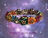 CUSTOM ORDER ONLY - Crystal Garden Bracelet