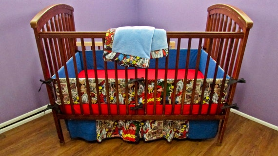 Marvel Super Hero Crib Set By BabyManna On Etsy