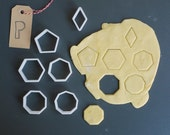 Polygon cookie cutter set...
