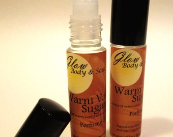Warm Vanilla Sugar Perfume Oil