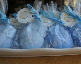 15 OWL SOAPS (Favors--DIY tags and ribbons