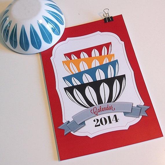 Cathrineholm calendario 2014 (tamaño A4)