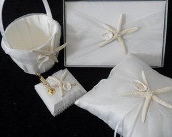 Starfish and Pearls Beach Wedding Set