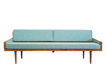 "Mid Century Modern Daybed with arms (""Executive Daybed"")"