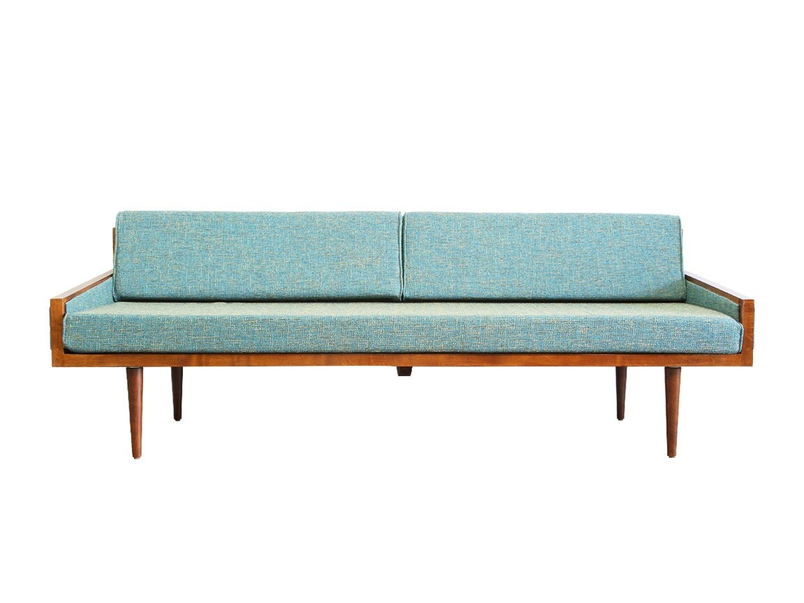 Mid Century Modern Daybed with arms Executive