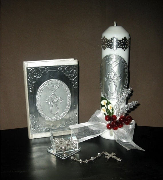 First Communion Candle Sets