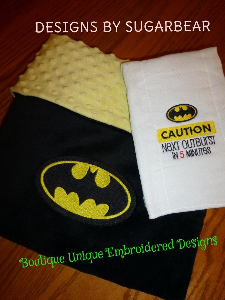 """Batman Baby Blanket Crochet. He encourages everyone else to give it a try and help others. FCSC resident Sheila Downs said she has always loved to sew, crochet and make baby blankets. It's something she has always done. """"The greatest feeling for me with this."""