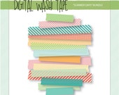 Digital Washi Tape - Summ...