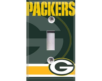 Green Bay Packers Light Switch Cover