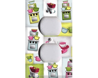 Fun Kitchen Outlet Cover