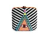 Eyeseeu  Box Clutch   by O'Frida  bags and accessories (India)