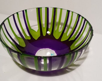 Color Drip - Fruit Bowl - Mid-sized - 8 inches
