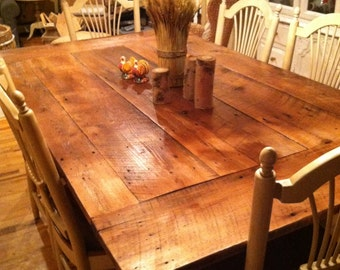 Popular Items For Wood Plank Table On Etsy