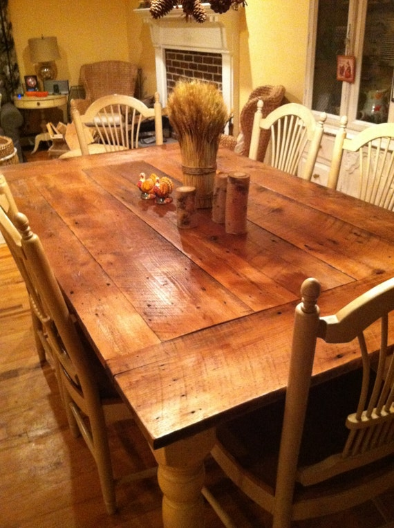 Reclaimed Wood Table top New Jersey harvest by  : il570xN5574633032fki from etsy.com size 570 x 763 jpeg 117kB