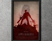 Original Giclee Art Print 'Army Of Darkness'