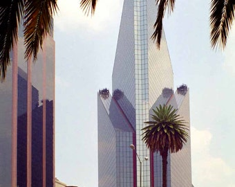 Print, Urban Landscape, Modern Mexico City, 1999