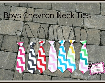 Baby to Big Boy Chevron Neck Ties
