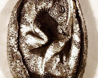 New Dino egg Pendent...Dinosaur Line..............Baby Hadrosaurs egg......