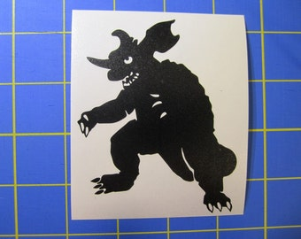 Baragon (Godzilla) Decal/Sticker 3X4