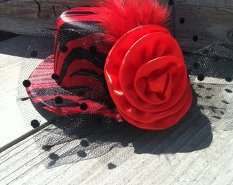 Mini Top Hat with clip