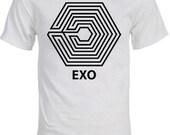 "EXO ""Overdose"" Logo K-pop T-Shirt"