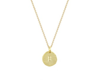 """Initial """"B"""" Necklace"""
