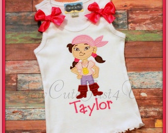 Izzy- Jake and the Neverland Pirates Personalized Tank