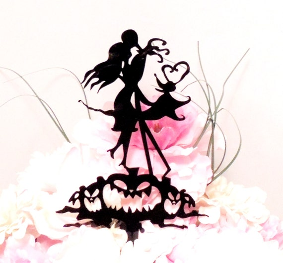 jack and sally wedding cake topper and sally wedding cake topper by yourpersonalengraver 16559