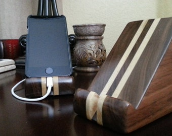 Wooden iPhone SE - iPhone Stand