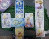Messages from Spirit: Intuitive Tarot Reading - 1 card, 3 cards, or Full Celtic Cross Spread