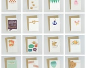 Wholesale: Mix & Match 25 Cards with Envelopes