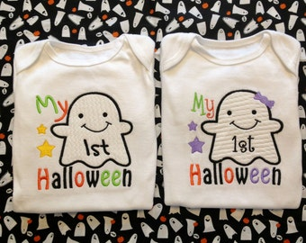 Baby's First Ghost Halloween One Piece or Shirt