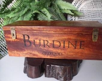 Wedding Wine Box, Wine Box, Personalized Box, Custom Wine Box, Wedding Gift, Anniversary Gift, Rustic Wine Box, Anniversary Gift