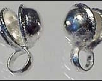 100 bells 7mm silver anklet bell