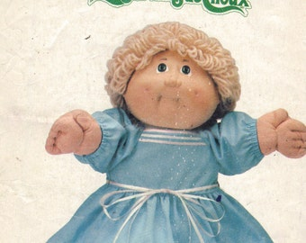 CABBAGE PATCH CLOTHES pattern 1985 dress and panties