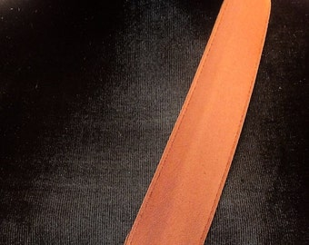 Copper Cloth Belt with Bronze Buckle