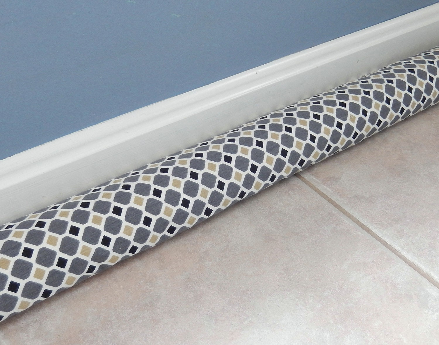 Door Draft Stopper Door Snake Breeze Blocker By Pookadellas
