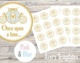 Once Upon a Time Stickers (Pink and Blue)
