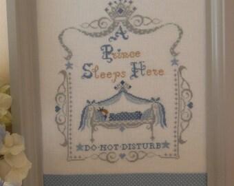 Schema Royal Baby - PRINCE (comprendente anche scritta in italiano e francese)- Formato cartaceo o PDF