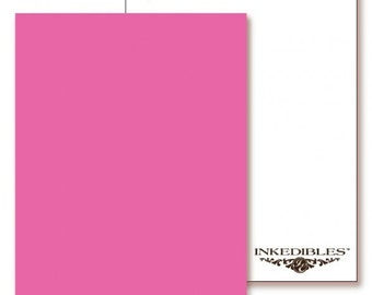 Inkedibles Premium Frosting FlavorSheets: 3 pack Letter Size (Watermelon flavor/scent)