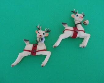Vintage, Rubber, Reindeer