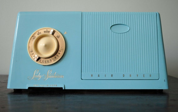 Swanky Retro Mid Century Lady Sunbean Bonnet Hair Dryer Nail Dryer Model DHD-1