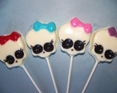 10 pc. Monster Skulls