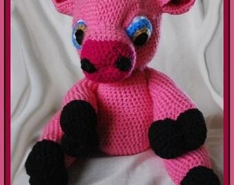 Pork Rind the Crochet Pig
